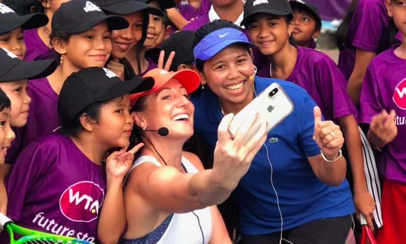 The WTA Future Stars has extended its outreach in Indonesia to Bali --> https://t.co/euwagwGWR3 https://t.co/Dg6OPLedKK