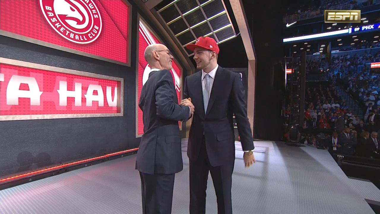 The 3rd pick in the 2018 NBA Draft...Luka Doncic. https://t.co/jKaaUdA71T
