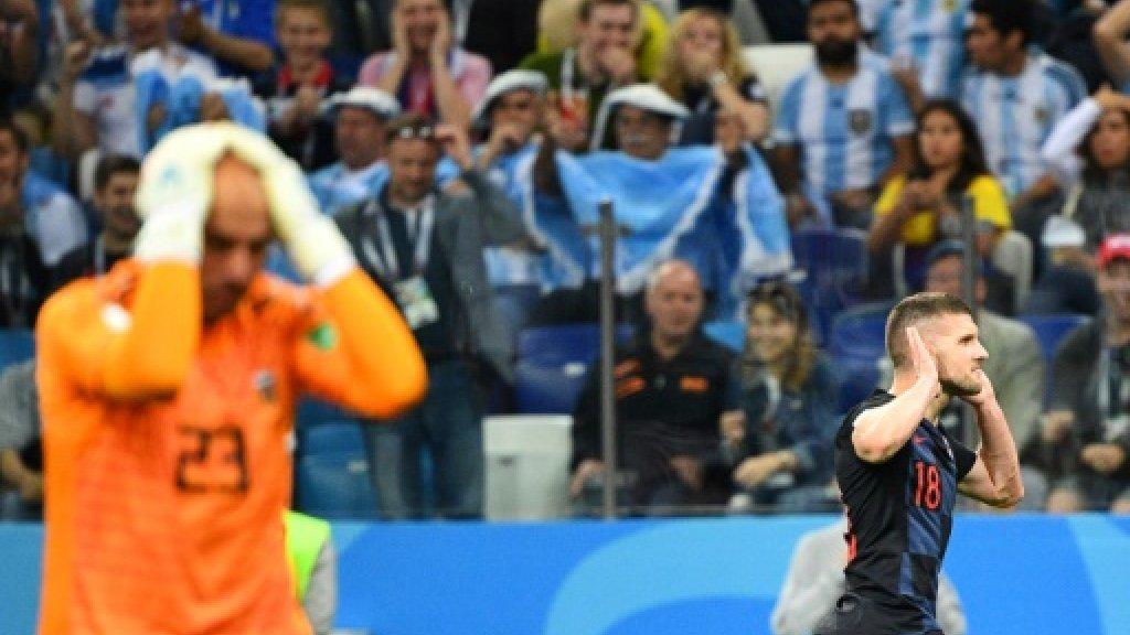 Caballero howler gifts Croatia goal at World Cup