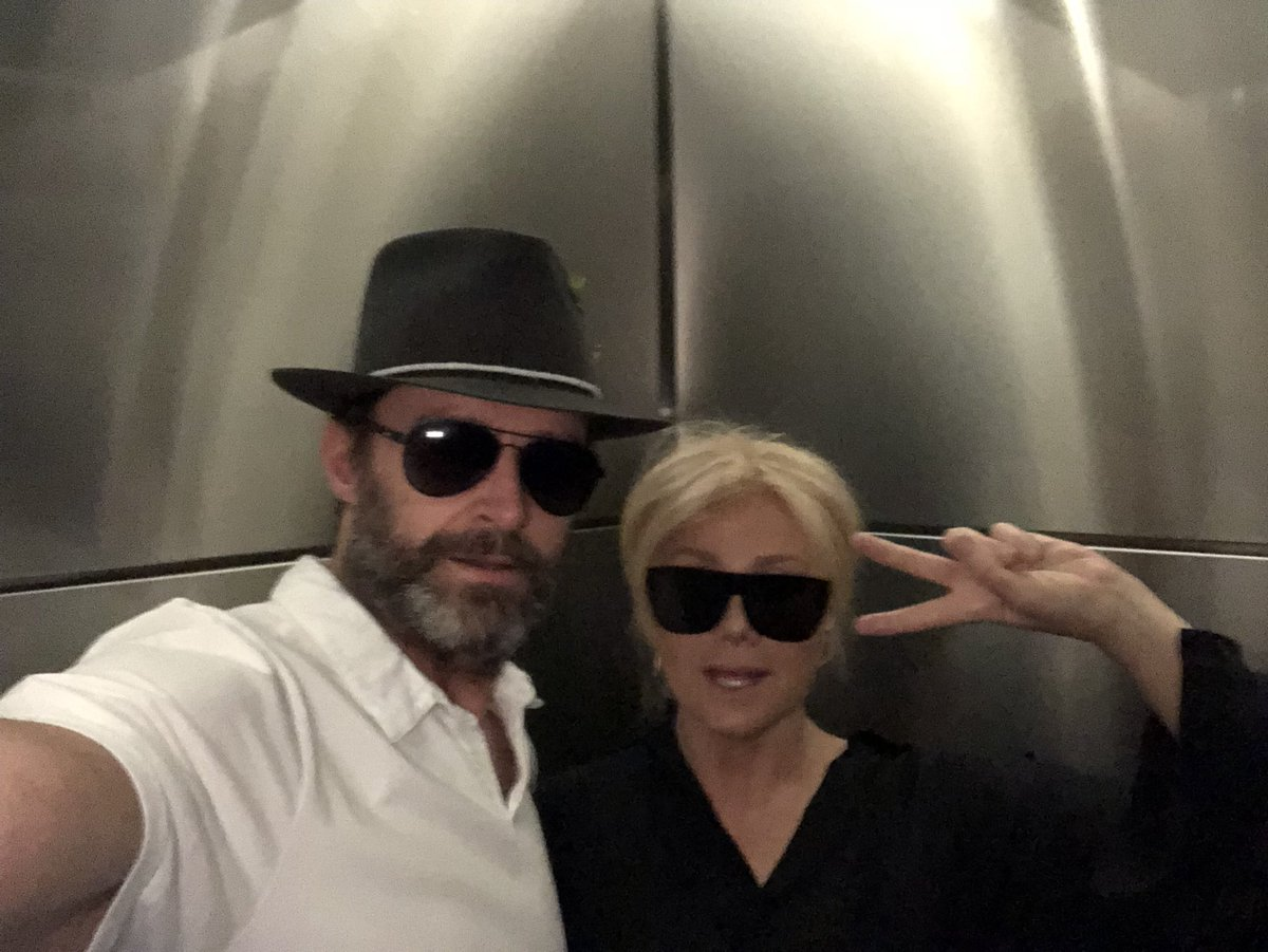 This is us .... #MyDebs @Deborra_lee #HappySelfieDay https://t.co/ubTYMMOn2q