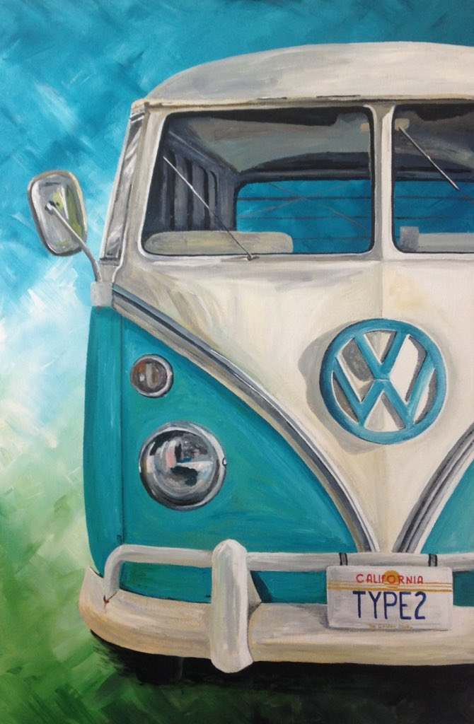 test Twitter Media - It's #driveyourvwtoworkday so here's a painting I've just finished #vw #vwcamper #vwsplitscreen #split #kombi #type2 https://t.co/kIYWNN31wg