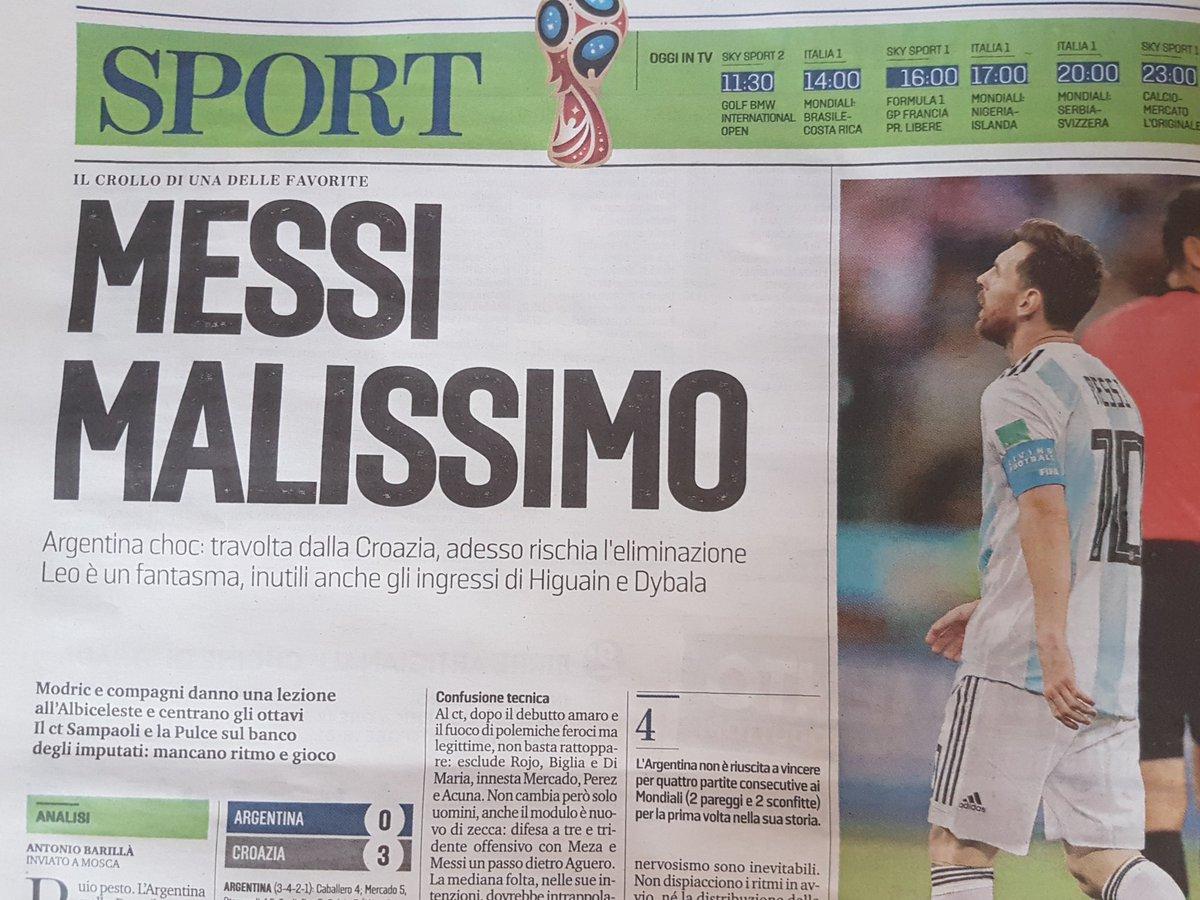 #ArgentinaCroazia