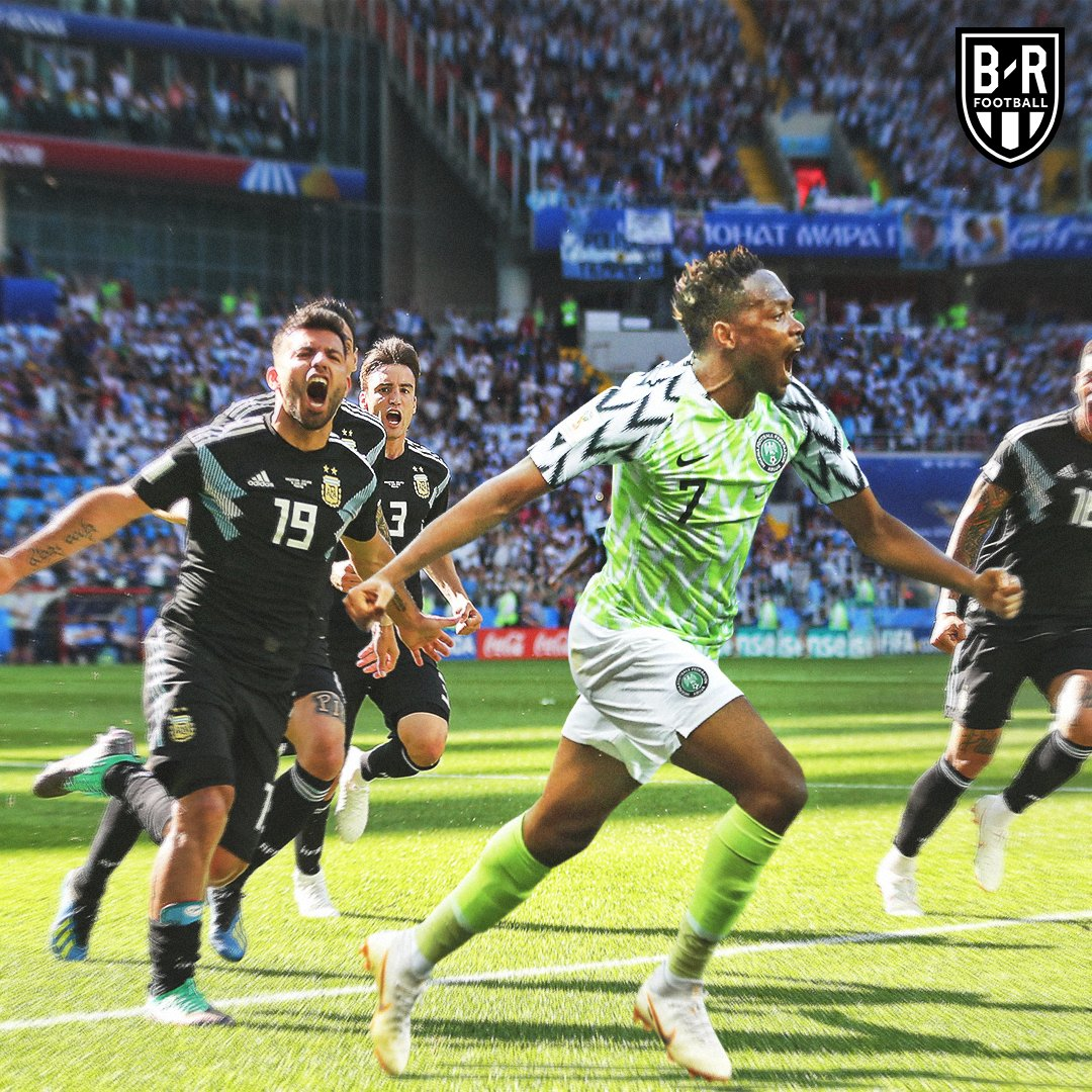 In World Cup, Musa Lifts Niger nigeria