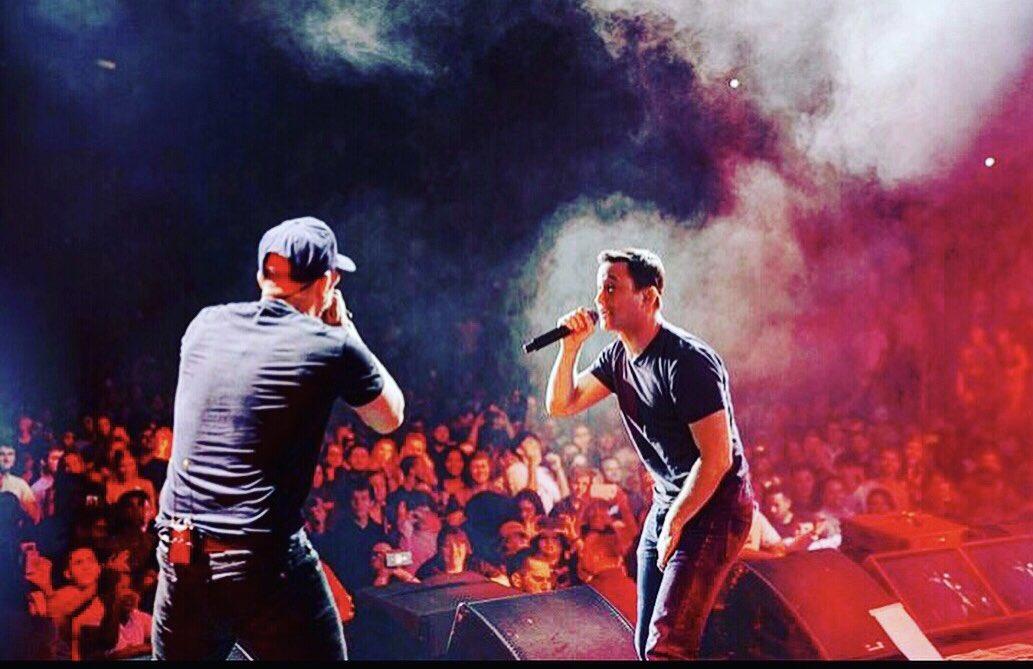 "Madison Square Garden, NYC. @Logic301 + @AnselElgort + me performing ""Killing Spree"" #fbf https://t.co/Sz1XuQNOPM https://t.co/hV0esRhtDj"