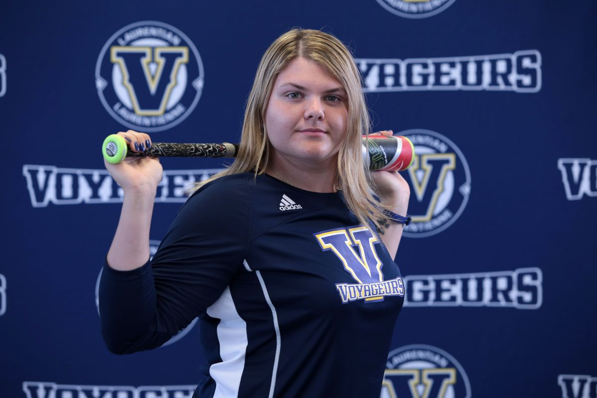 Julia Jodouin makes history with Laurentian men's baseball team @Globe_Sports