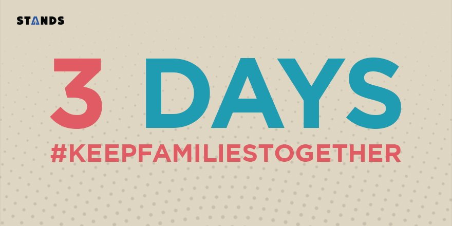 Join the fight Monday. More info to come! <3 #KeepFamiliesTogether https://t.co/O3wVIxAvHS