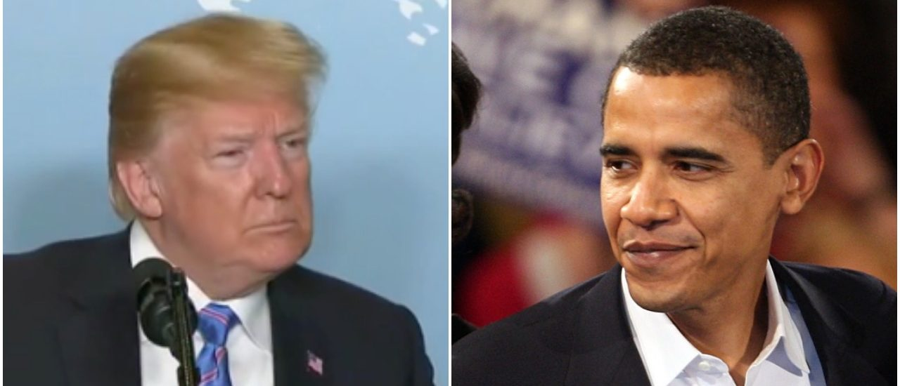 Trump: 'Obama Had Same Pictures' Of Migrants, Did Nothing About It https://t.co/UlMfwhyxK1 https://t.co/XQLWCPwuA4