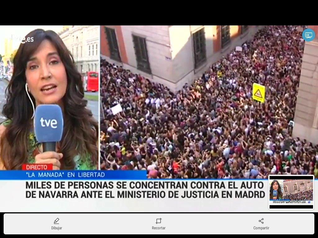 RT @rosamariaartal: Madrid contra la Manada y la libertad de la manada https://t.co/vLdLrOoAtb