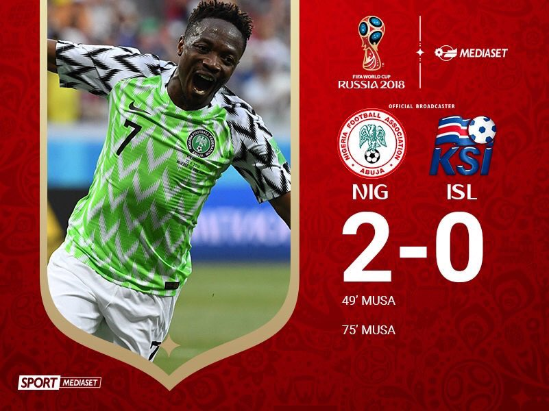 #NigeriaIslanda