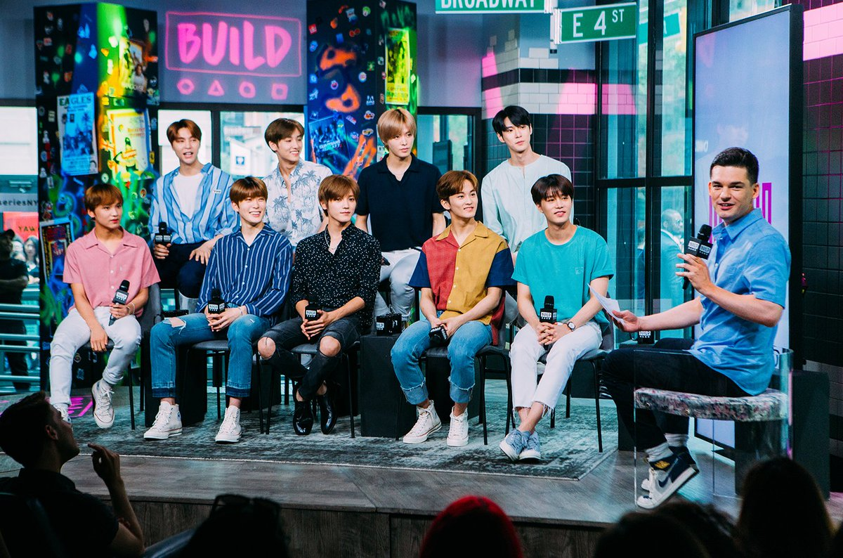 How NCTsmtown127s exciting visit at BUILDseriesNYC