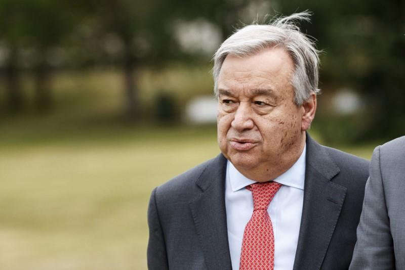 U.N.'s Guterres demands immediate end to military escalation in southwestern Syria https://t.co/6pd3hdZG9b https://t.co/v48M8X1lol