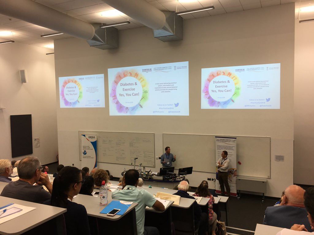 """test Twitter Media - At @SwanseaUni for an excellent diabetes and exercise """"Yes you can"""" event, supporting my type 1 pregnant wife after our early morning swim 👊🏼🤰🏼some great inspiring speakers and learning a lot @DiabetesUK @DRUCymru #diabetes #research #husbandpoints https://t.co/ZiLwlTL9t2"""