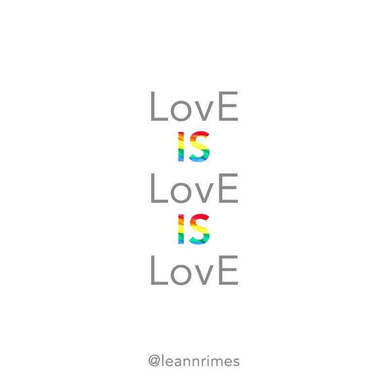 Wishing everyone celebrating this weekend a safe and happy Pride ????️‍???? #LovEisLovE #Pride2018 #PrideMonth #LovEWins https://t.co/bgxHEpWZrT