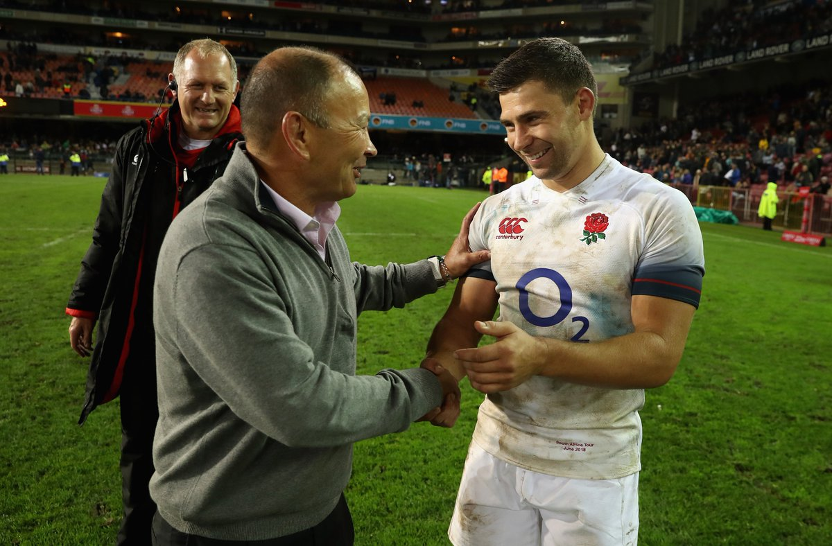 test Twitter Media - The series may have been lost, but England returned to winning ways with a 25-10 win over South Africa 👊 https://t.co/no80hgHkJU