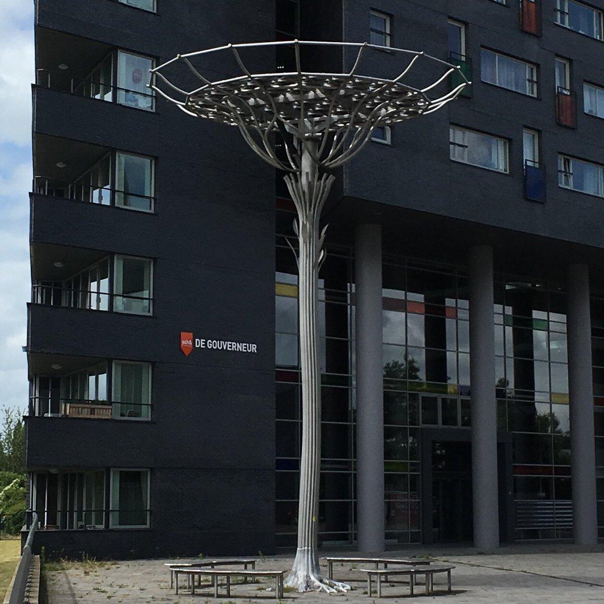 test Twitter Media - De zonneboom van Andreas Hetfeld in #Nijmegen. Mooi voorbeeld van hoe kunst en nieuwe techniek samen kunnen gaan. #Dorsoduro #beeldhouwkunst #industriëlevormgeving #kunstisoveral https://t.co/BKTDuMfwCn