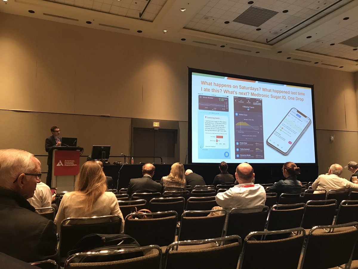 "test Twitter Media - Our very own @asbrown1 describes how #diabetes apps can make our lives easier at #2018ADA: ""We can do better than winging it every day, which is what all of us with diabetes do without decision support."" https://t.co/iY9GuokVXy"