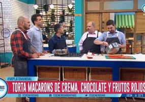 El chef de #Junín Pablo Remaggi hizo una torta macaron en la@TV_Publica #cocina https://t.co/uJ2E2TeGvh https://t.co/NbvVEIlymo
