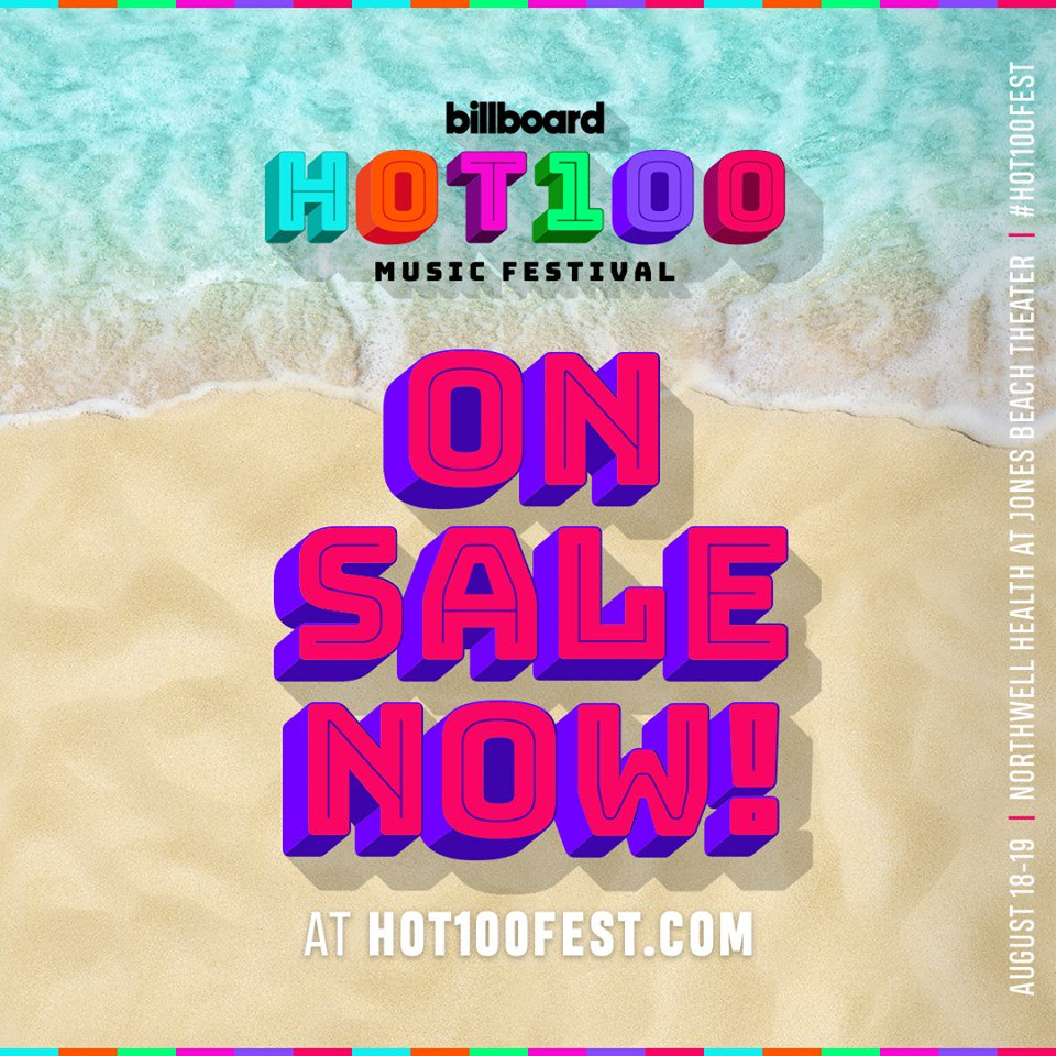 Tickets to @Hot100Fest are on sale now! Grab your passes here 🔥🏖️ #hot100fest https://t.co/vswuVYDWXn https://t.co/zmAhWDXxHE