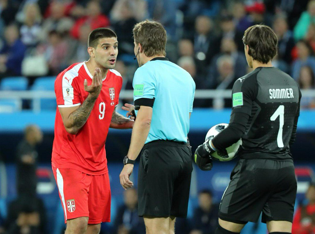 Serbia appeal to FIFA over refereeing in defeat to Switzerland