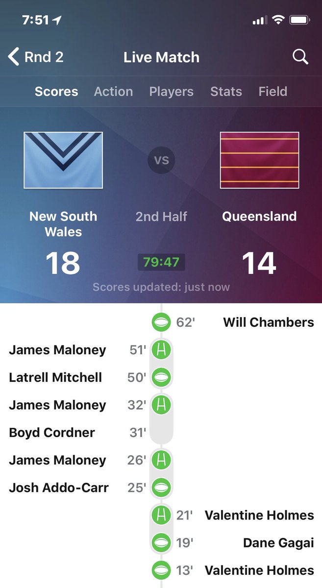The series is ours! Go the blues!! #rugbyleague #stateoforigin2018 https://t.co/PVxmFAwhzq