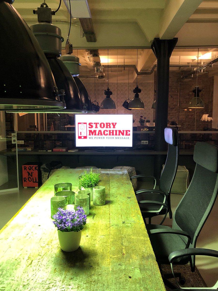 #Storymachine