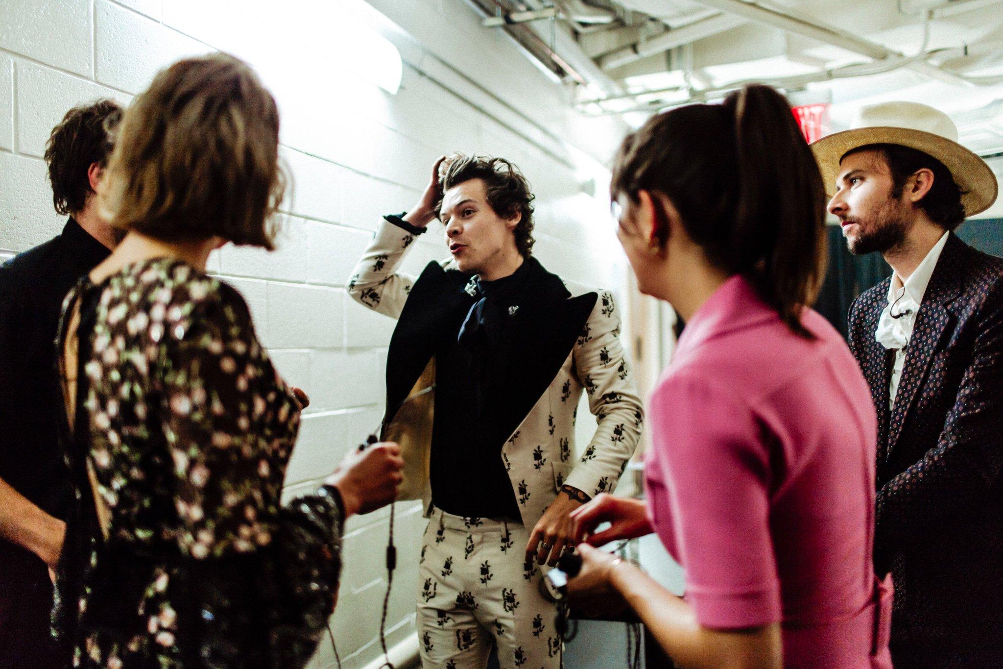 Harry Styles // Live On Tour Night 47 // New York, NY 1/2 21.06.18 https://t.co/HIcjHsQC2B