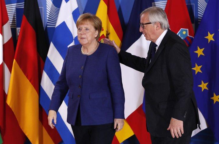 @BroadcastImagem: Líderes da UE se reúnem em Bruxelas para cúpula informal sobre imigração. Yves Herman/AP