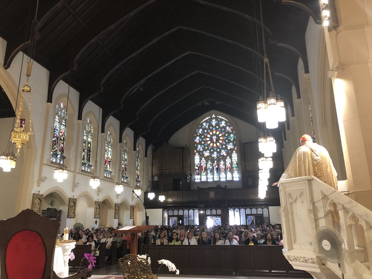 test Twitter Media - A special joy to celebrate the Solemnity of the Nativity of St. John the Baptist at St. Thomas Aquinas parish in the Bronx. My thanks to the parishioners and their fine pastor, Fr. Librado Godinez! St. John  the Baptist, pray for us! https://t.co/UANsGF8ulI