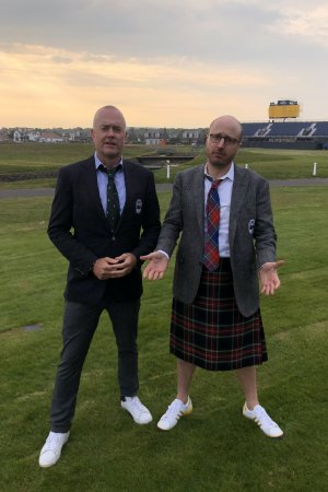 Exclusive: Men in Blazers expands to golf, adds live show from The Open in Scotland