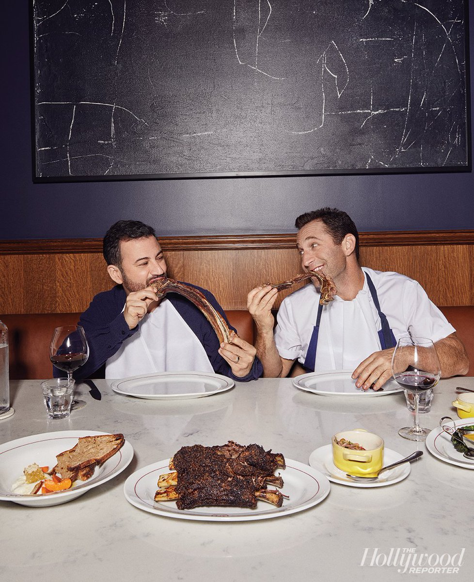 .@JimmyKimmel and Hollywood's greatest BBQ bromance