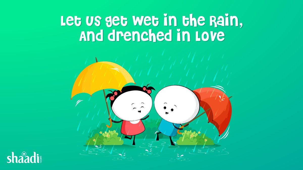 test Twitter Media - When life gives you rainy days, jump in the puddles with your loved one! 😍😉  #MumbaiRains #CutenessOverload https://t.co/p5vKoOKpls