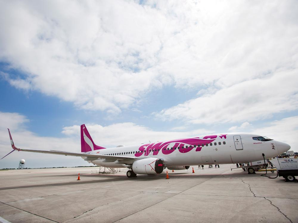 Growth of low-cost airlines giving boost to Canada's biggest secondary airports