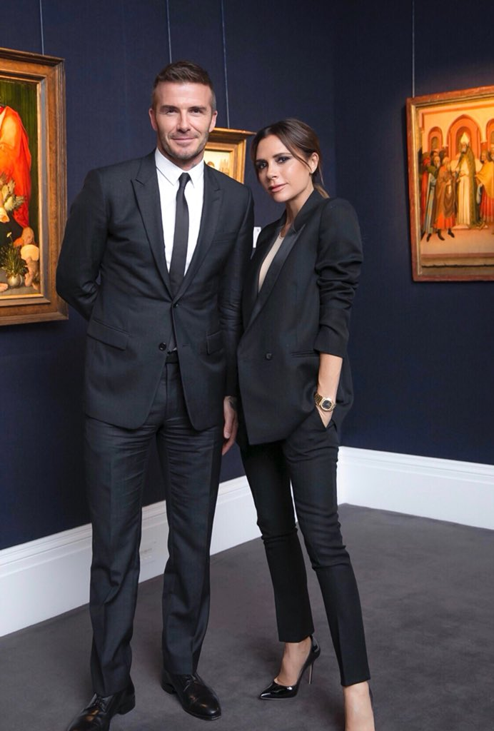 Thanks to all @Sothebys for a lovely evening x VB #VBXOMP #VBDoverSt https://t.co/bS3xq4PyGR