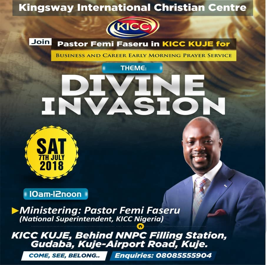 test Twitter Media - RT @KICCKuje: You are specially and highly invited. It promises to be a great time of blessing...tnx https://t.co/fhc0yUspVX