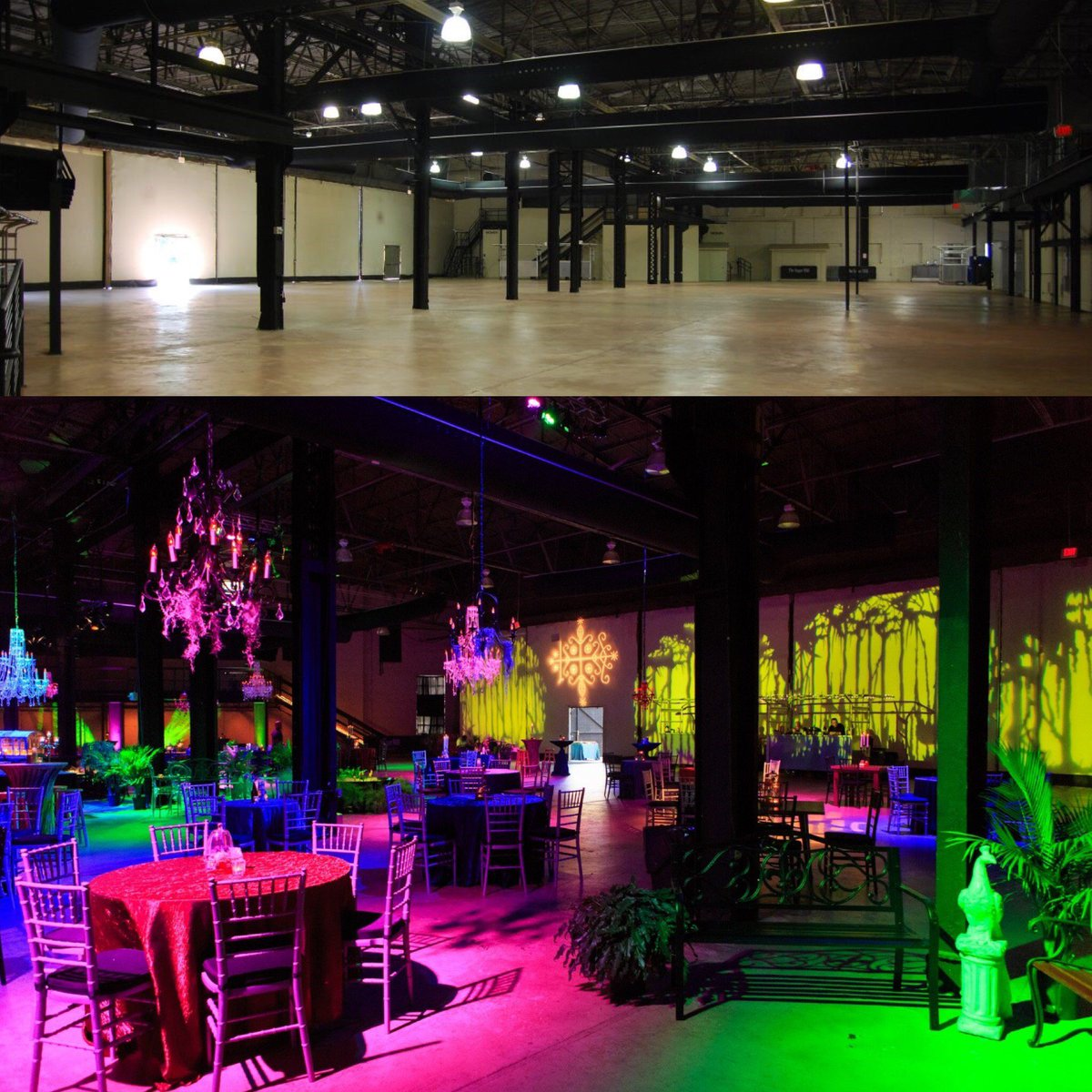 test Twitter Media - Check out these Before/After pics from a Voodoo themed reception at the Sugar Mill Thanks @gkphotography1 for the excellent pics! #transformationtuesday #tuesday #bbcnola #eventprofs #designbyjeanne #voodoo #jewelcolors https://t.co/iqztNI6Euq