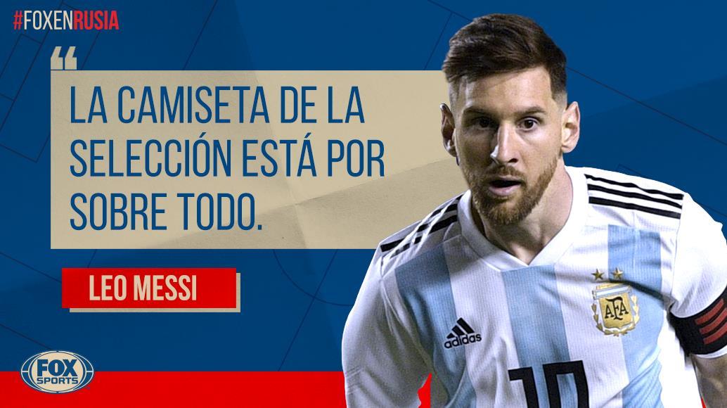 RT @FOXSportsArg: ¡CRACK!  #FOXenRusia | Estas fueron las palabras de Messi luego del triunfo de #ARG sobre #NGA. https://t.co/iyw7FSyZO3