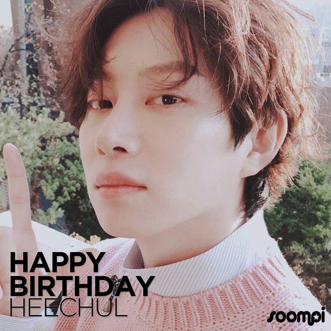 Happy Birthday to Kim Heechul!  Catch up with him: