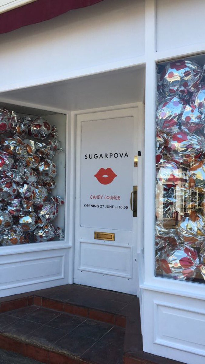 RT @Sugarpova: We are open! #PovaPopUp @ 12  Church R, Wimbledon Village https://t.co/5vLXacp6Xq