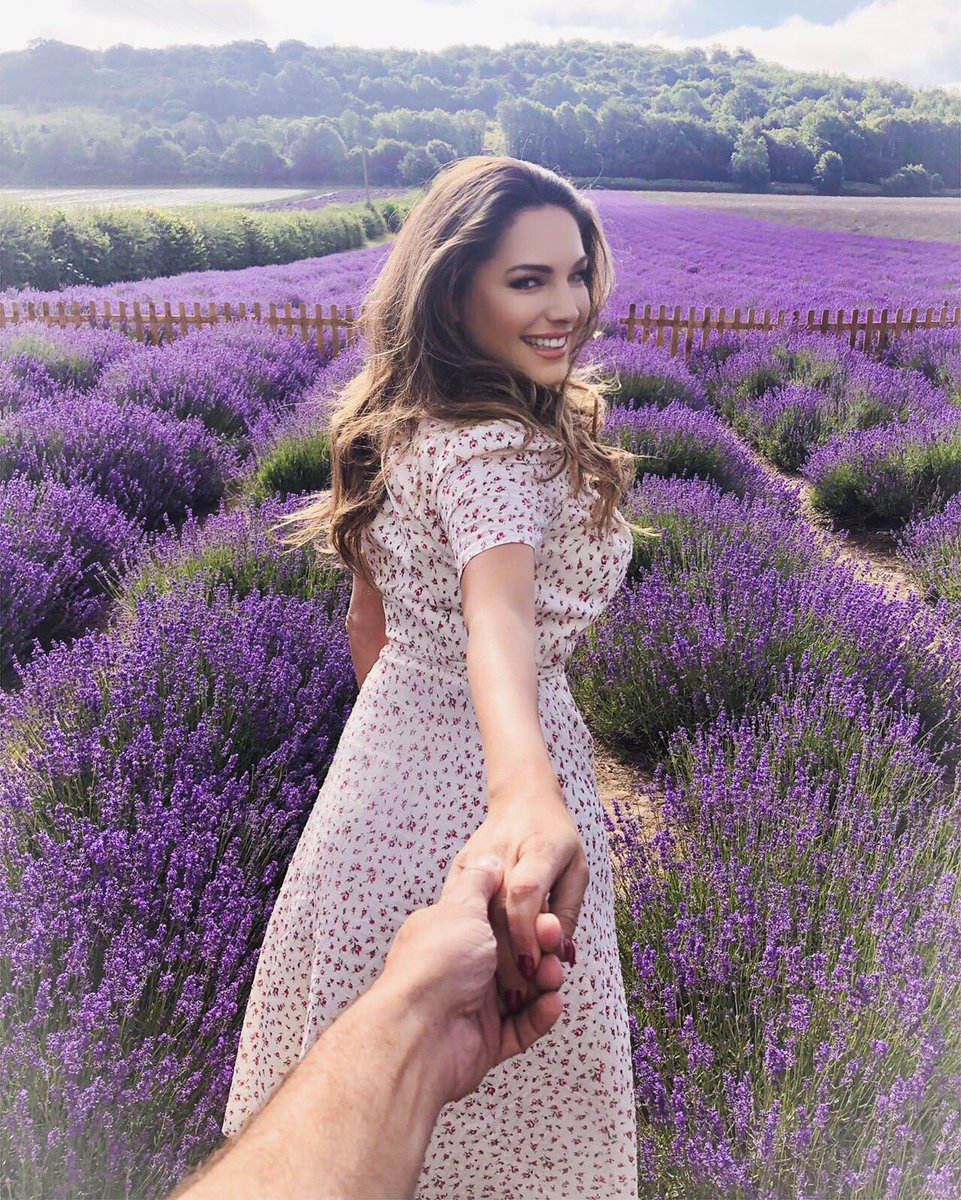 Always wanted to do a Picture like this just needed the right partner and Location ???? #KentishLavender https://t.co/ou9Gv0oAkF