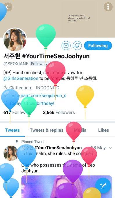 Happy birthday unni slash mami slash sunbaenim kesayangan baby J. Best best best wishes for you, always
