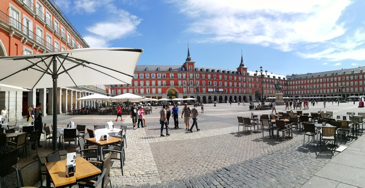 test Twitter Media - RT @CartertonCC: Late afternoon in Plaza Mayor #CCCMadrid https://t.co/p6Sw7r9J8q