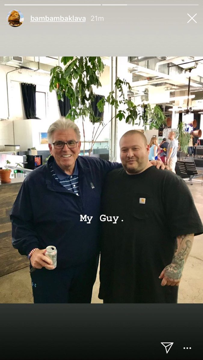 RT @MikeFrancesa: Met @ActionBronson . He promised me he was going to hit a HR in CC's softball game. https://t.co/zE3wiGBabq