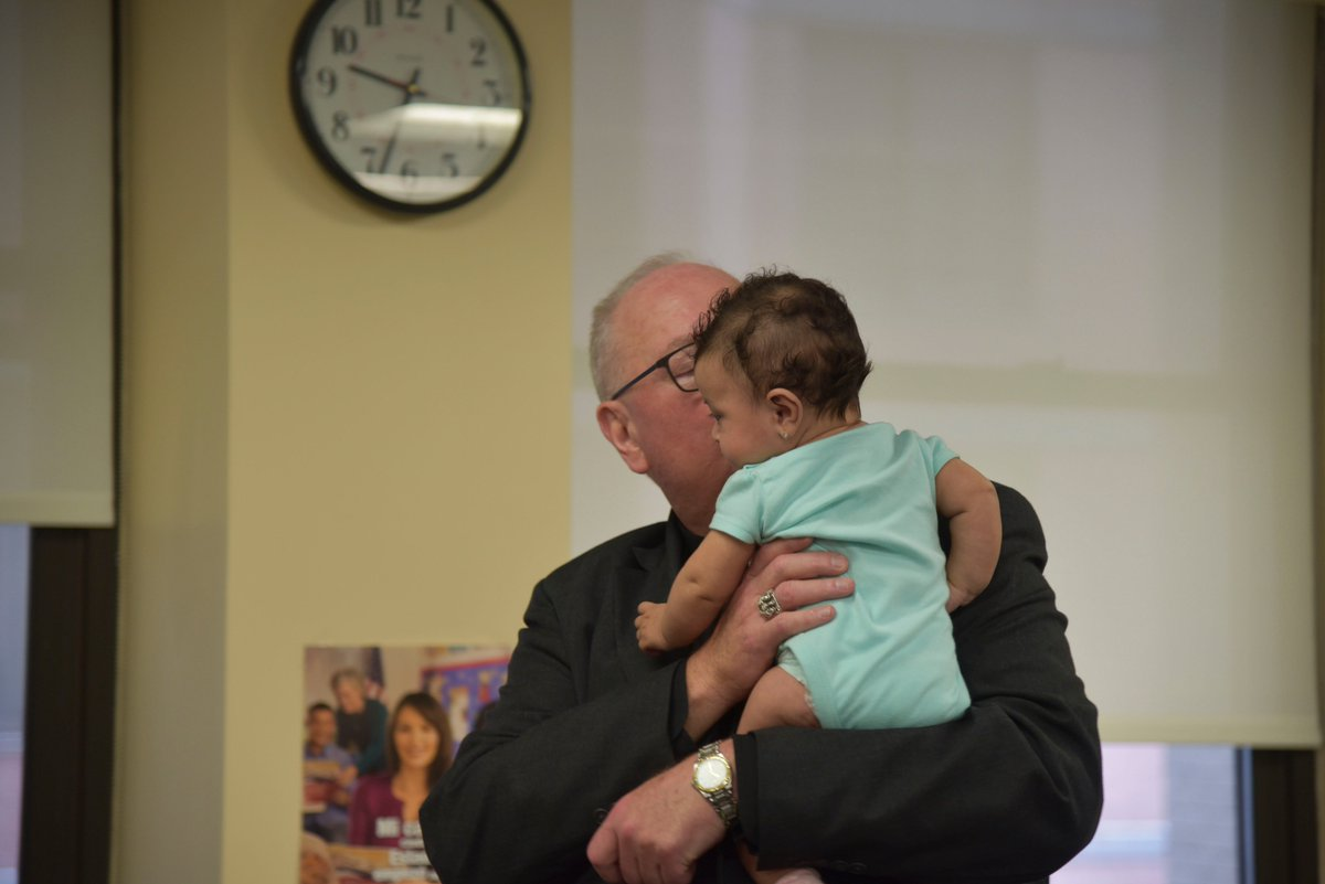test Twitter Media - An inspiring visit this morning to the Catholic Charities immigration offices to witness the incredible work they do to assist immigrants and refugees.  Here is a photo of one of their youngest clients (fortunately she was with her mother!) https://t.co/RRcCl2AWHo