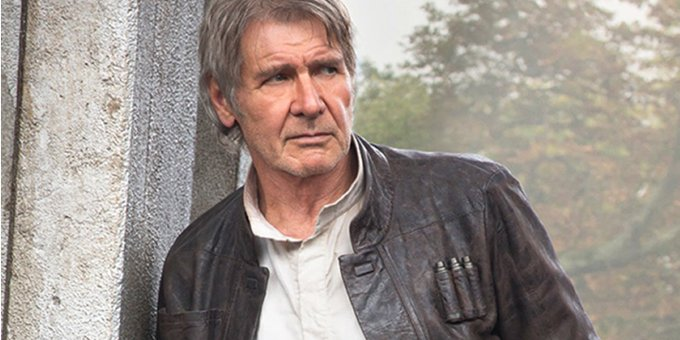 76 years old?  You look great!   Happy birthday, Harrison Ford!