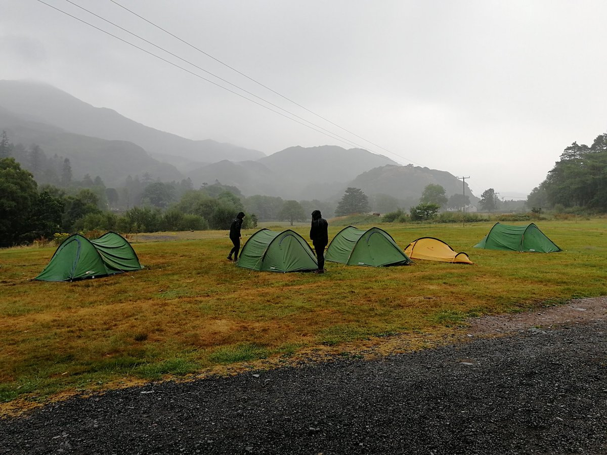 test Twitter Media - Day 3 dawns a little wet but spirits are still high! Total resilience on gold #dofe https://t.co/xpx1W0fLEb