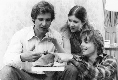 Happy Birthday to Harrison Ford!    We love our scruffy-looking nerf herder