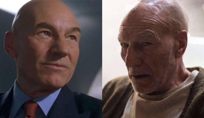 Happy Birthday ! Today Patrick Stewart meets 78 years