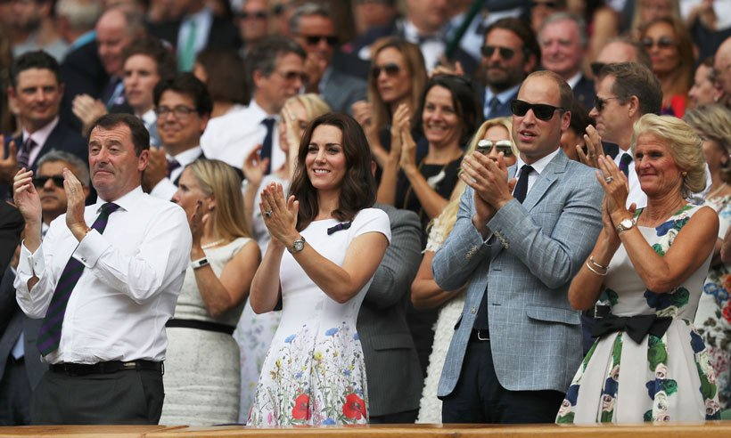 Video: Duchess Kate's love affair with Wimbledon:
