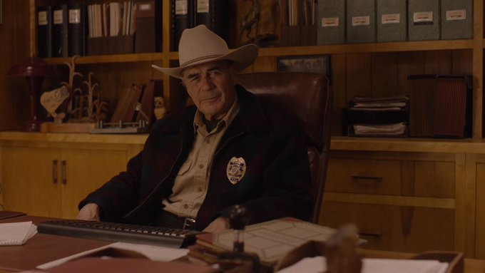 Happy birthday to Robert Forster (Sheriff Frank Truman)!