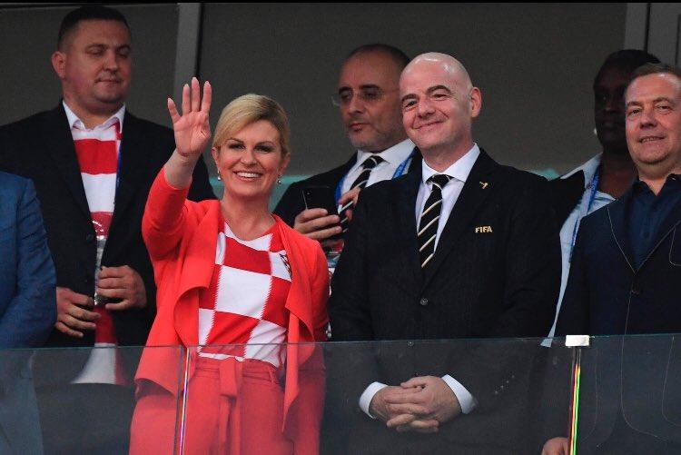 RT @AlaaNoori_: لرفع معنويات البنات : لا يخسر فريق تقودة أمراة 💪✌️ #كرواتيا_انجلترا...